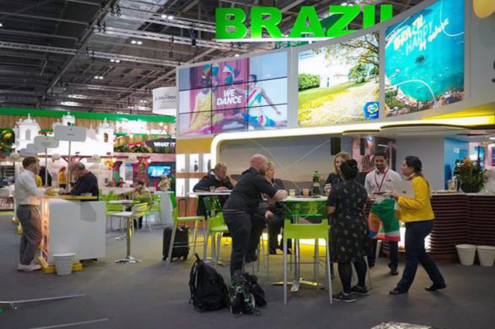 Estande da Embratur na WTM London