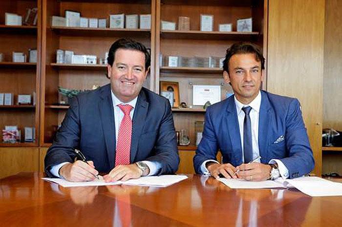 Andrés Solari (CEO Algeciras) e Patrick Mendes (CEO AccorHotels América do Sul)