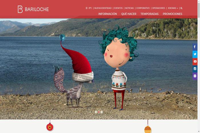 Bariloche lança site interativo para a programação de Natal