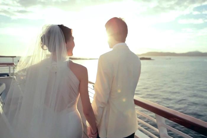 SeaDream Yacht Club oferece viagens privativas para realização de casamentos