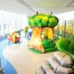 Área para crianças menores no Forest Aquaventure Park