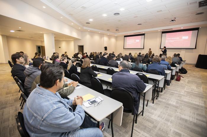 Fórum de Executivos de Turismo do Iguassu reuniu centenas de profissionais em atividades ao longo de 2018 (Foto: Jean Pavão)