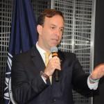 Adrian Ursilli, Country Manager da MSC no Brasil, deu as boas-vindas ao convidado