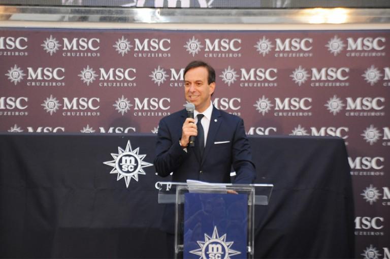 Adrian Ursilli, diretor da MSC no Brasil
