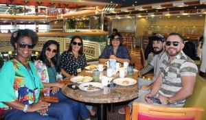 Costa Fascinosa recebe agentes de viagens de Maceió; veja fotos