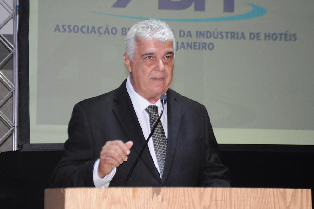 Alfredo Lopes, presidente da ABIH-RJ e SindHotéis