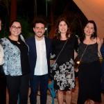 Aline Cristina, Amira Ayoub, Caio Lacerda, Lais Careche, Bianca Schimpl e Nathalia Kraus, da Latam Airlines