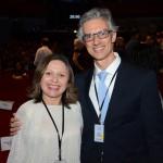 Ana Clévia Guerreiro, do Sebrae, e Marco Ferraz, da Clia Brasil