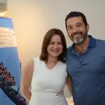 Ana Maria Donato, da Imaginadora, e Jorge Souza, da Orinter
