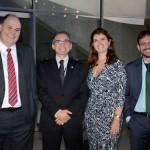 Anderson Dalbone, Sesc Nacional, Marcelo Queiroz, do Sesc RN, Roberta Barreto, do Sesc Nacional, e Raniery Pimenta, do Senac RN