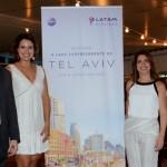 André Sena, da Latam, Carolina Dias, Renata Vuono e Renata Cohen, do Turismo de Israel