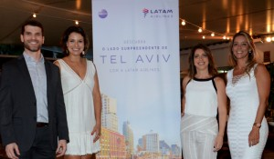 Latam inicia voo para Israel com 90% de ocupação; veja fotos do lançamento