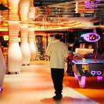 Arcade e boliche num único lugar