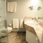 Banheiro do Yacht Clube Deluxe