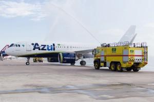 Aeroporto de Navegantes recebe novo voo da Azul para Foz do Iguaçu