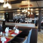Butcher's Cut é o restaurante steakhouse do navio especializado em carnes