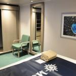 Cabine interna do Seaview