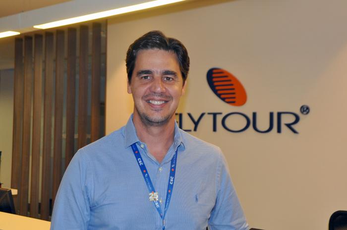 Christiano Oliveira, CEO do Grupo Flytour