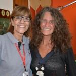 Claudia Andries, da Ancoradouro, e Mari Masgrau, do M&E