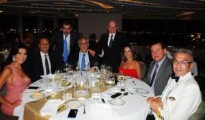 Trade comparece à inauguração do MSC Seaview no Brasil; veja fotos