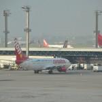 Operado pela companhia aérea Corendon Airlines, a viagem inaugural teve 70% de ocupação