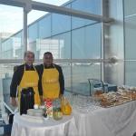Durante o evento de abertura, os convidados puderam desfrutar de um café da manhã