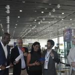 Durante o evento, os colaboradores agradeceram pela presença de todos e se mostraram empolgados com a nova rota