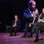 Didi Wagner, Vinicius Lummertzs, ministro do Turismo, Alexandre Moshe, da Decolar.com, e Gilherme Paulus, da GJP