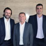 Emerson Sanglard, da Copa Airlines, Luiz Quagio, da TAP, e César Floreste, da ANA