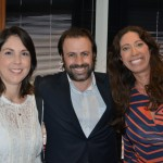 Emerson Sanglard, da Copa Airlines, entre Bruna Freitas e Francine Gomes, da Aeromexico