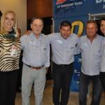 Fátima e José Anjos, Luis Paulo Luppa, Washington Pretti e Rosely, então acionistas da Trend