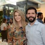 Fabio Santos e Amanda Gamero, da Abreu