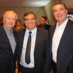 Gérard Bourgeaiseau, Paulo Henrique, advogado, e George Durante, ex-Othon