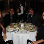 Gabriela Boller, da ABC Turismo, com seu esposo Adyb Fabel, e Cristiane e Paulo Barbosa, da Singulares Turismo