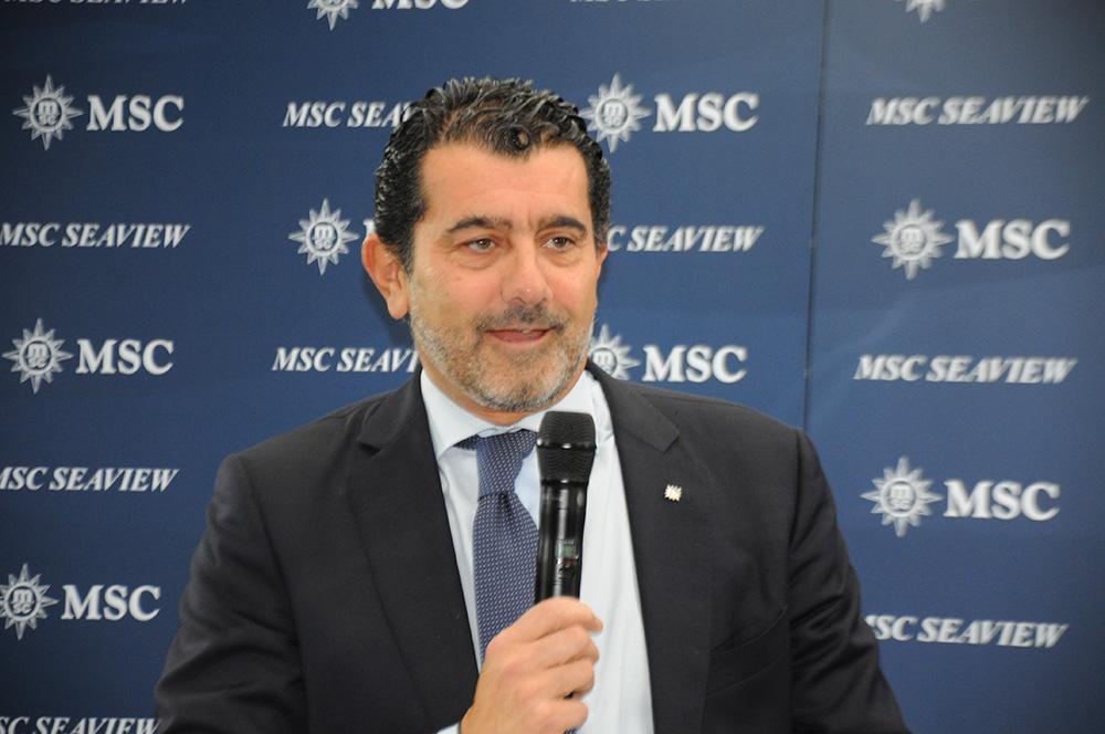 Gianni Onorato, CEO da MSC