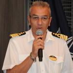Giuseppe Galano, comandante e anfitrião do MSC Seaview