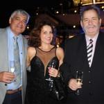 Gustavo Andrade, do Terminal Portuário de Salvador, Eunice Gusmão, arquiteta, e Pedro Costa, presidente da Comcar