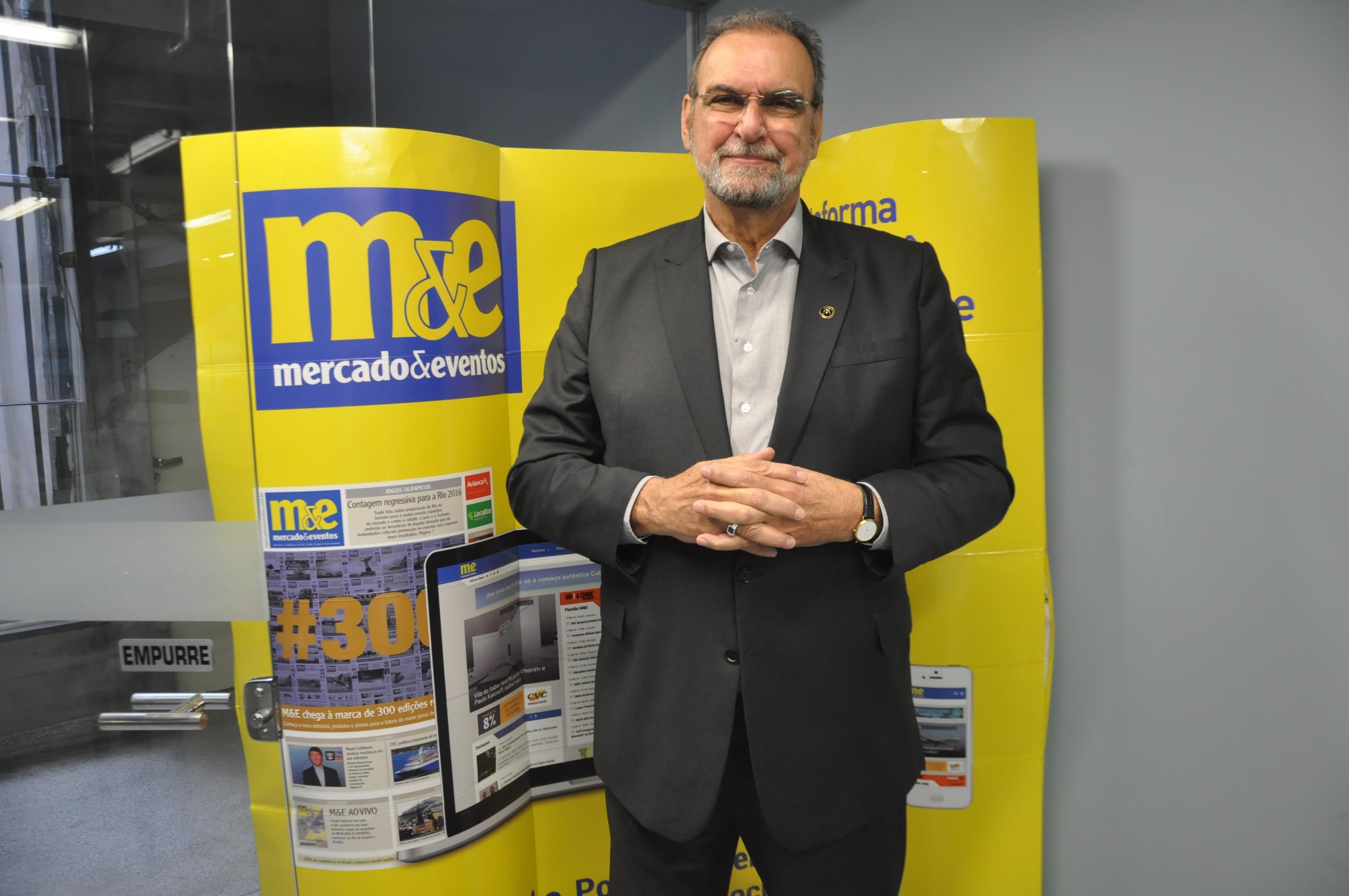 Ibrahim Tahtouh, VP concierge da Abratus e Presidente da IT Mice
