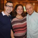 Jonas Queirós, da Curumim, Eliane Nogueira, da Inter Cont, e Erly de Jesus, da Setur-RJ