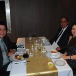 Jorge Jatobá, da Pier Viagens, com River Pereira e Ana Paula Pereira, da Home Travel