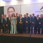 Líderes que participaram do Personalidade do Turismo 2018 da ABIH-CE