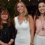 Lia Soares e Renata Vuono, do Turismo de Israel, e Michelle Nedelciu, da Raidho