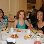 Lucia Cascardo, da MM Eventur, Lourdes Vitorino, da Vitour, e Margot Moreira, da MM Eventur
