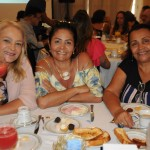 Luciane Proença, da MGF Turismo, Rosana Moreira, da RBM Tour, e Hilda Rocha, da Flam Assessoria Viagens e Turismo
