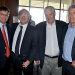 Lucio Yamashitafuji, da Aeroméxico, Mario Carvalho, da TAP, Ricardo Pacci, da Tyller