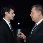 Marcelo Álvaro Antônio, futuro ministro do Turismo, e Alexandre Sampaio, da FBHA