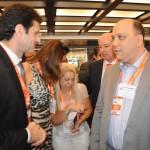 Marcelo Álvaro, futuro ministro do Turismo, com Alberto Cestrone, presidente da ABR