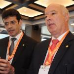 Marcelo Álvaro, futuro ministro do Turismo, e Herculano Passos, da Frentur