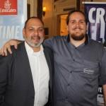 Marcelo Abreu, da Emirates, e Marcelo Andrade, da Transmundi