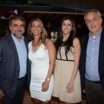 Marcelo Patelli, Renata Vuono, do Turismo de Israel, Nathalia Moura e Sylvio Ferraz, da CVC Corp